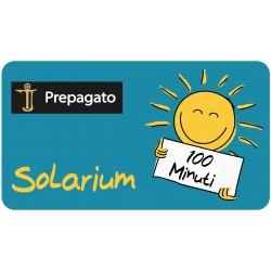 PREPAGATO SOLARIUM- 100 Minuti