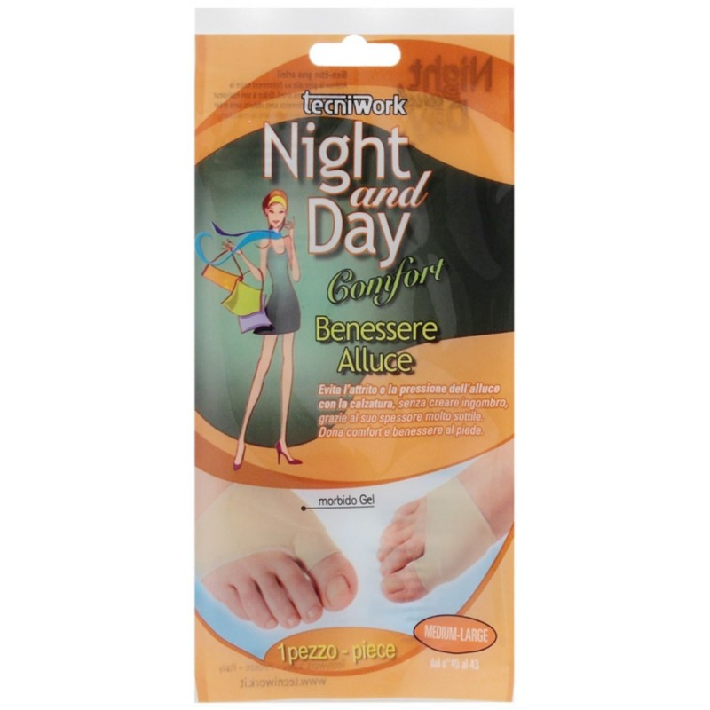 NIGHT AND DAY Comfort Benessere Alluce - 1Pz - Small/Medium